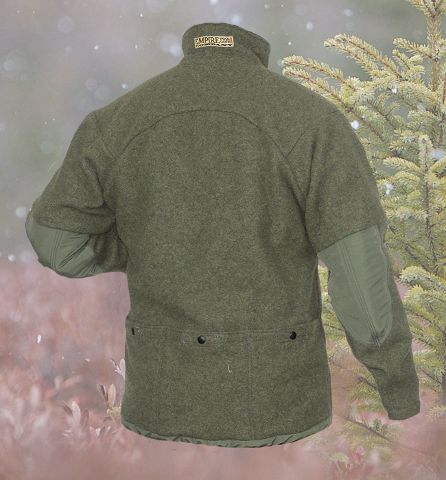 Grey Fox Pullover Empire Wool And Canvas Company