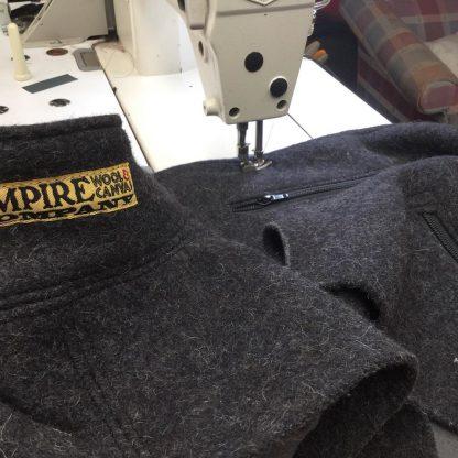 Charcoal Grey 100% wool