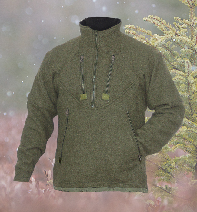 Grey Fox Pullover : Empire Wool and Canvas Company
