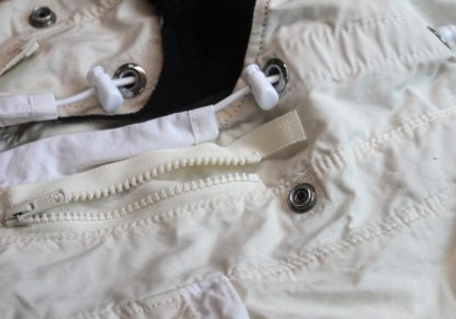 Anorak ruff zipper