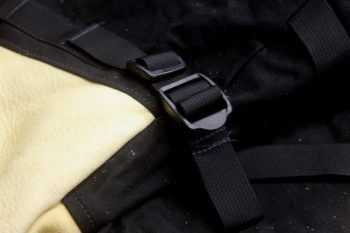 Wrist buckle on True North Mittens