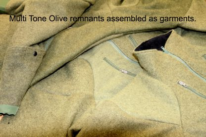 Multi Tone Olive garments