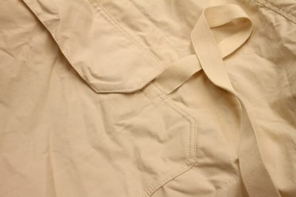 Pocket Flaps and Cotton tape ties of the Traditional Arctic Anorak